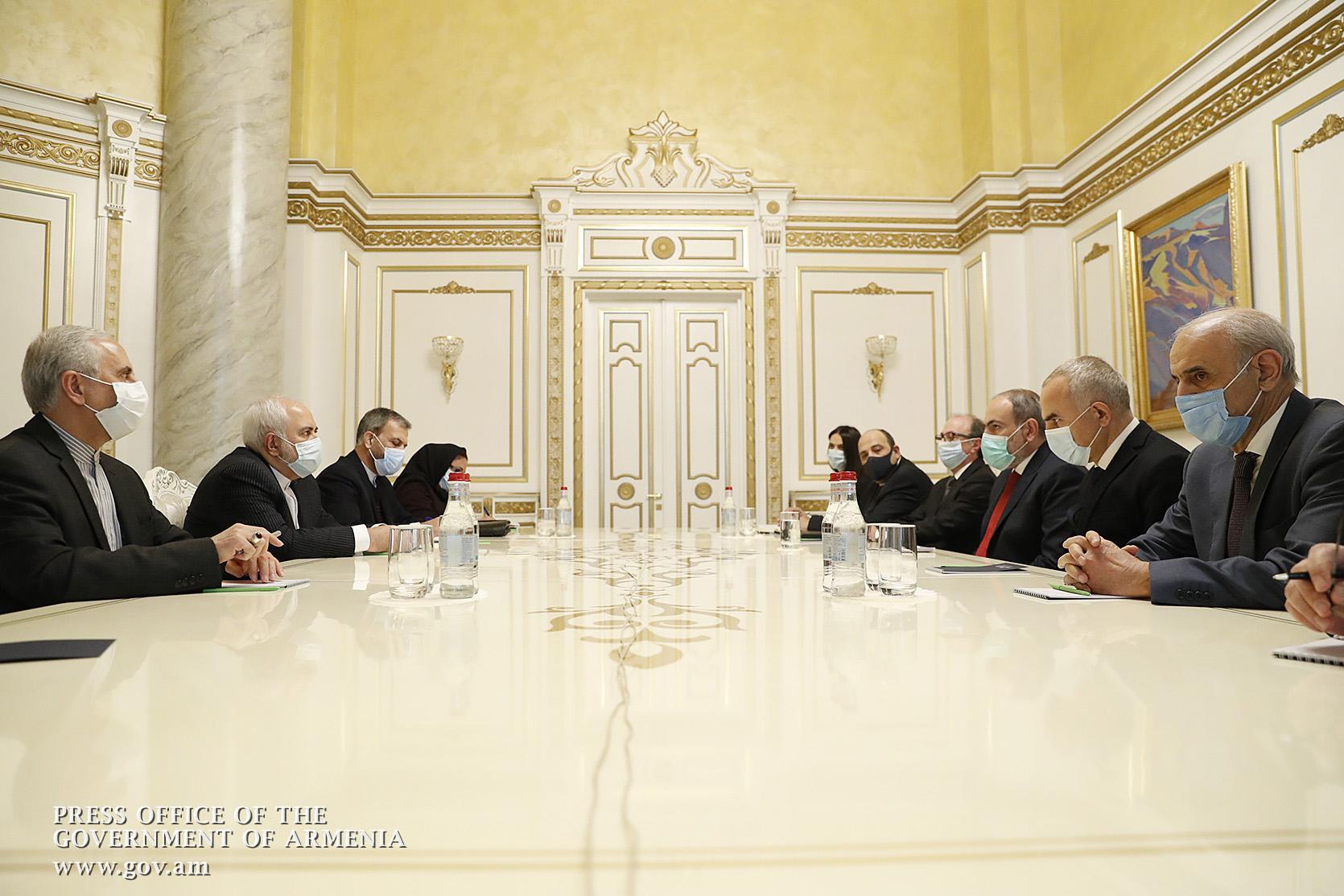 Photo of Տարածաշրջանի կայունությունն ու խաղաղությունը մեր ընդհանուր հետաքրքրությունների տիրույթում է. վարչապետն ընդունել է Իրանի ԱԳ նախարարին
