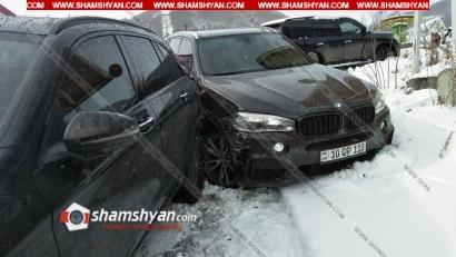 Photo of Ծաղկաձորում՝ ճոպանուղու կայանատեղիում, մերկասառույցի պատճառով բախվել են Porsche Cayenne-ը, BMW-ն, Lexus-ը և երեք Mercedes-ները