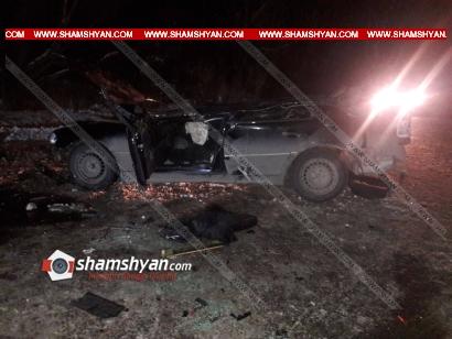 Photo of Ողբերգական ավտովթար Կոտայքի մարզում. 32-ամյա վարորդը Mercedes-ով բախվել է կամրջի ճաղավանդակին և մոտ 4,5 մետր բարձրությունից ցած ընկել. վերջինս հիվանդանոցում մահացել է