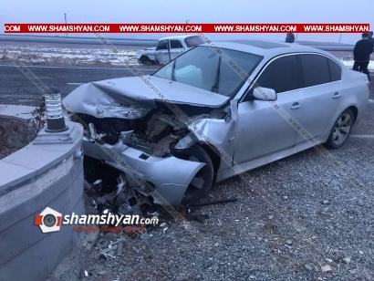 Photo of Խոշոր ավտովթար Արագածոտնի մարզում. բախվել են BMW-ն ու «Մոսկվիչ»-ը. կան վիրավորներ