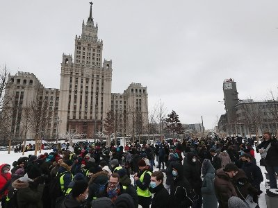 Photo of МВД: В акции в Москве приняли участие около 2 тыс. человек