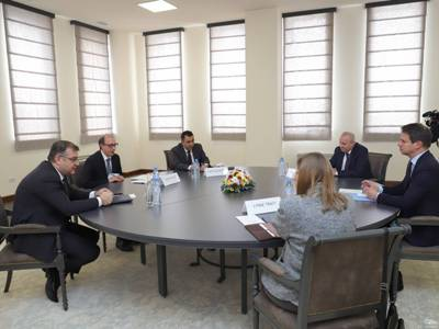 Photo of ԱԳ նախարար Արա Այվազյանի հանդիպումը ՀՀ-ում ԵԱՀԿ Մինսկի խմբի համանախագահ երկրների դեսպանների հետ