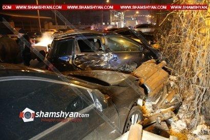 Photo of Շղթայական ավտովթար Երևանում. «Հին Ջրվեժ» ռեստորանի դիմաց բախվել են 9 ավտոմեքենա