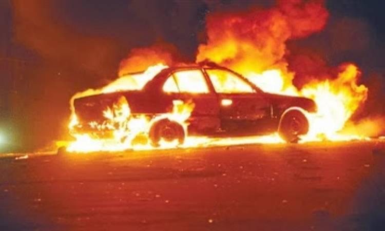 Photo of Ճակատեն գյուղի գերեզմանատանն ավտոմեքենա է այրվել