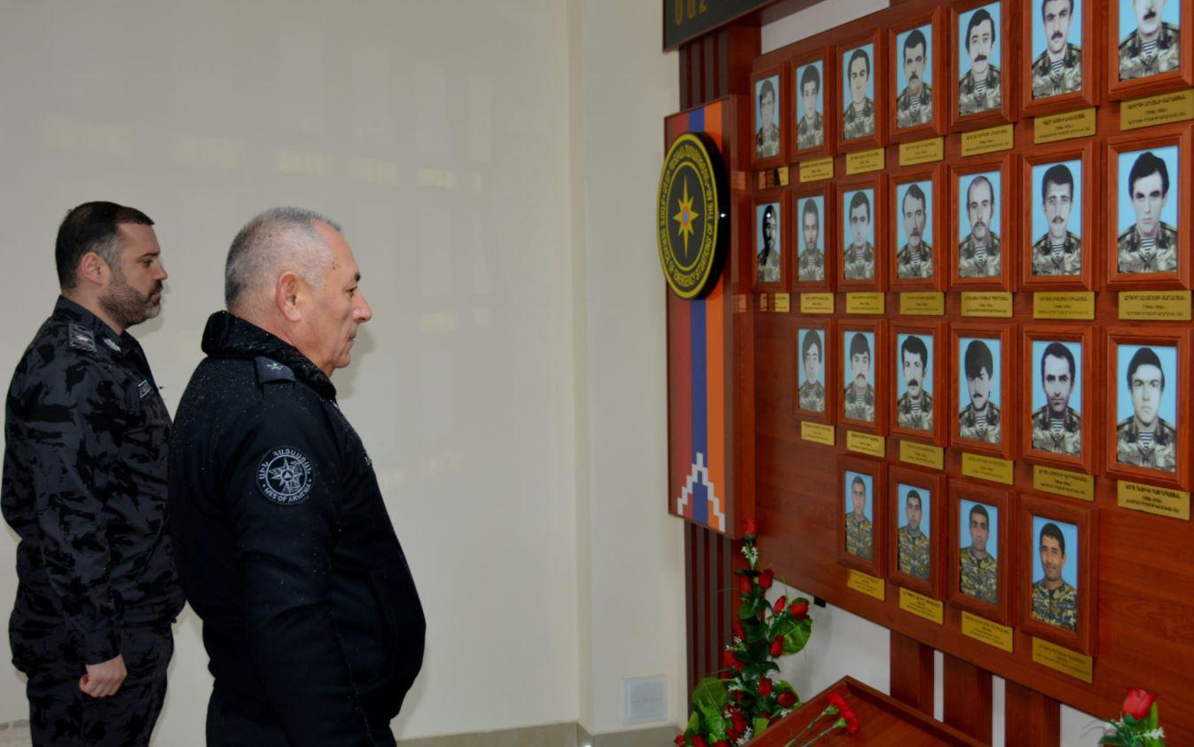 Photo of ՀՀ ԱԻ նախարարը առաջին պաշտոնական այցն է կատարել Արցախի Հանրապետություն