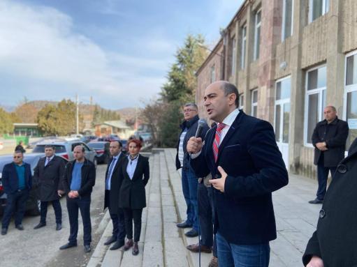 Photo of «Լուսավոր Հայաստան» խմբակցության անդամներն այցելել են Տավուշի մարզ