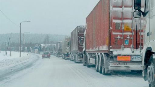 Photo of Ձնահոսքի վտանգի պատճառով Լարսը փակ է բեռնատարների համար