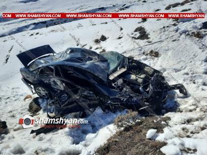 Photo of Խոշոր ավտովթար Շիրակի մարզում․ 26-ամյա վարորդը Mercedes-ով, մոտ 90 մետր գլորվելով, հայտնվել է ձորում․ կա վիրավոր