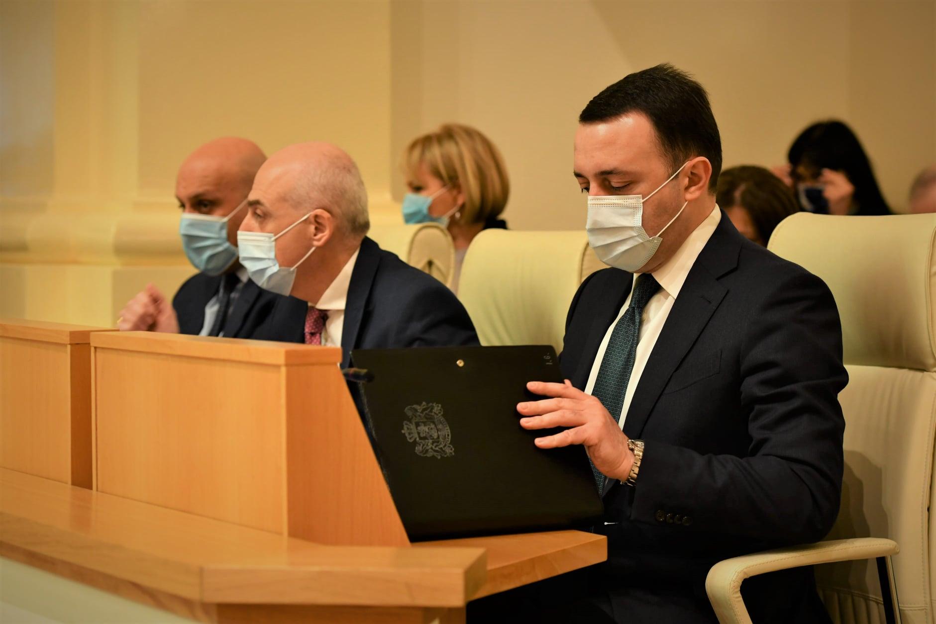 Photo of 89 կողմ, 2 դեմ. Իրակլի Ղարիբաշվիլին՝ Վրաստանի վարչապետ