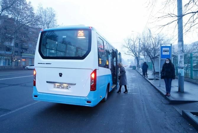 Photo of Երևանում շահագործման է հանձնվել նոր միկրոավտոբուսներից բաղկացած առաջին երթուղին