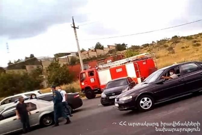 Photo of Սարալանջի պողոտայում բախվել է 5 ավտոմեքենա. դրանցից մեկի վարորդը տեղափոխվել է հիվանդանոց