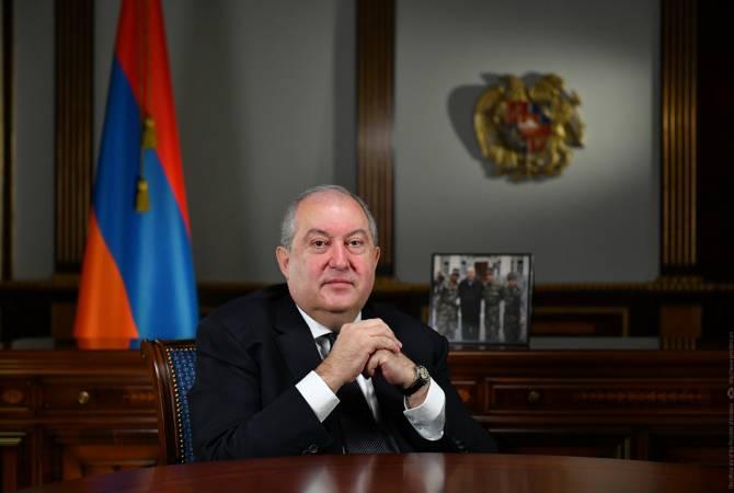 Photo of С разрешения врачей президент Армен Саркисян в конце этой недели вернется в Ереван