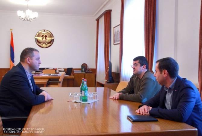 Photo of ՀՀ և ԱՀ էկոնոմիկայի գերատեսչությունները քննարկում են առաջիկա անելիքները. Քերոբյանը՝ ԱՀ նախագահին