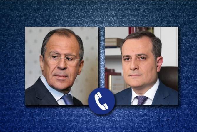 Photo of Перед встречей с Айвазяном Лавров поговорил с главой МИД Азербайджана
