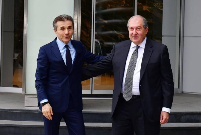 Photo of Նախագահ Արմեն Սարգսյանը շնորհավորել է Բիձինա Իվանիշվիլիին՝ ծննդյան 65- ամյակի առթիվ