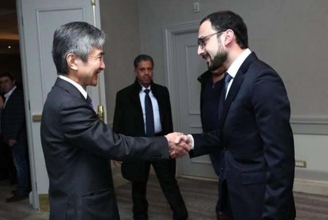 Photo of ՀՀ փոխվարչապետ Տիգրան Ավինյանն ուղերձ է հղել Ճապոնիայի ազգային տոնի առթիվ