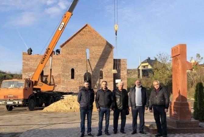 Photo of В украинском Луцке строится армянская церковь
