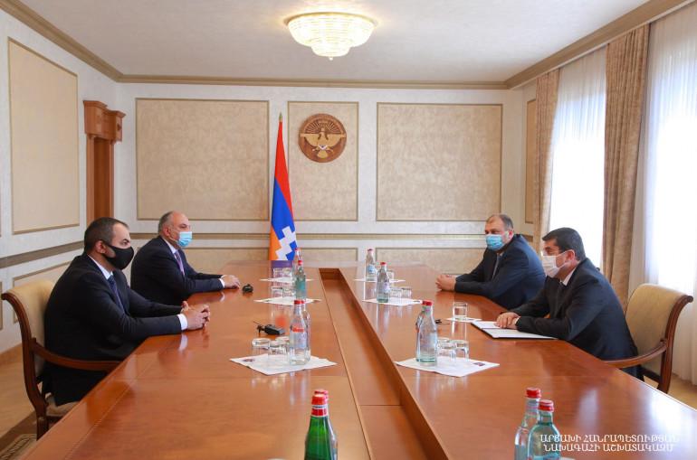 Photo of Президент Арцаха принял генерального прокурора Армении