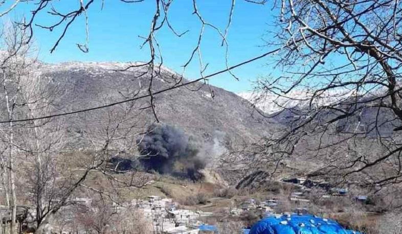 Photo of Турция нанесла авиаудары на границе с Ираном