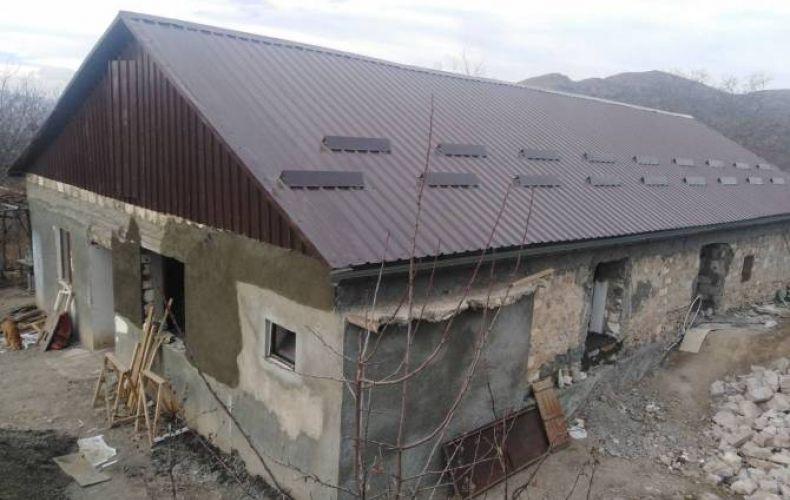 Photo of Շոշ գյուղում վերակառուցվում է 15 առանձնատուն