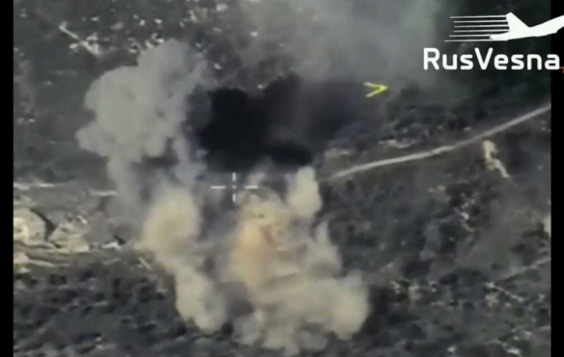 Photo of ՌԴ օդատիեզերական ուժերը Սիրիայում ահաբեկիչներին պատկանող «գաղտնի բազա» են պայթեցրել