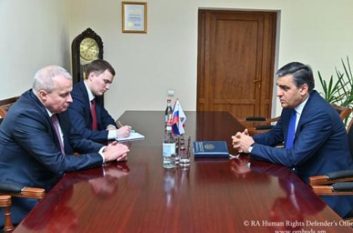 Photo of ՄԻՊ-ն ու ՌԴ դեսպանը քննարկել են Ադրբեջանում պահվող հայ գերիների վերադարձի հրատապությունը
