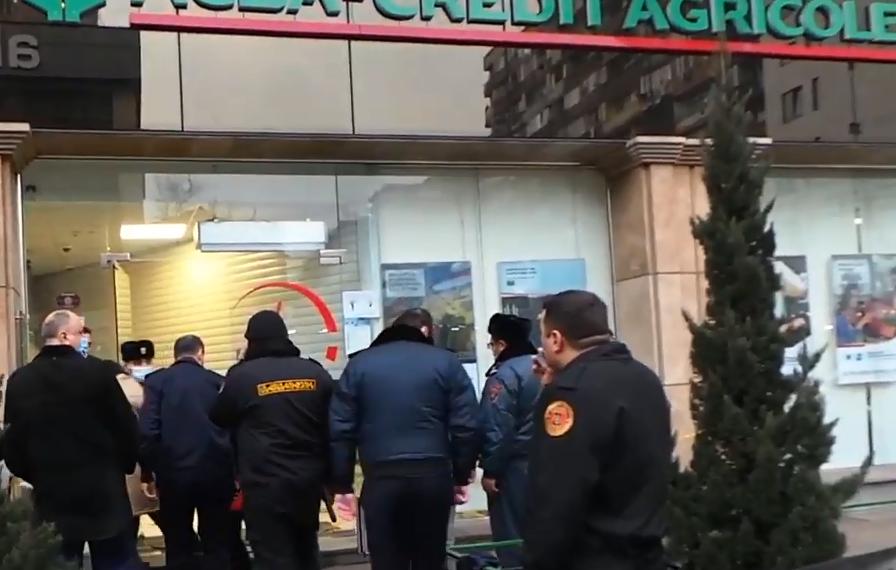 Photo of 32-ամյա տղամարդը ձերբակալվել է՝ բանկի մասնաճյուղում ավազակային հարձակում կատարելու կասկածանքով