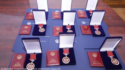 Photo of Հետմահու «Արիության համար» մեդալով է պարգևատրվել Արմավիրի մարզից 9 զինծառայող