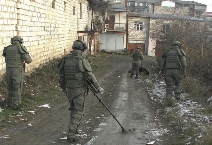 Photo of ՌԴ խաղաղապահները Լեռնային Ղարաբաղում ականազերծել են շուրջ 1296,3 հա տարածք