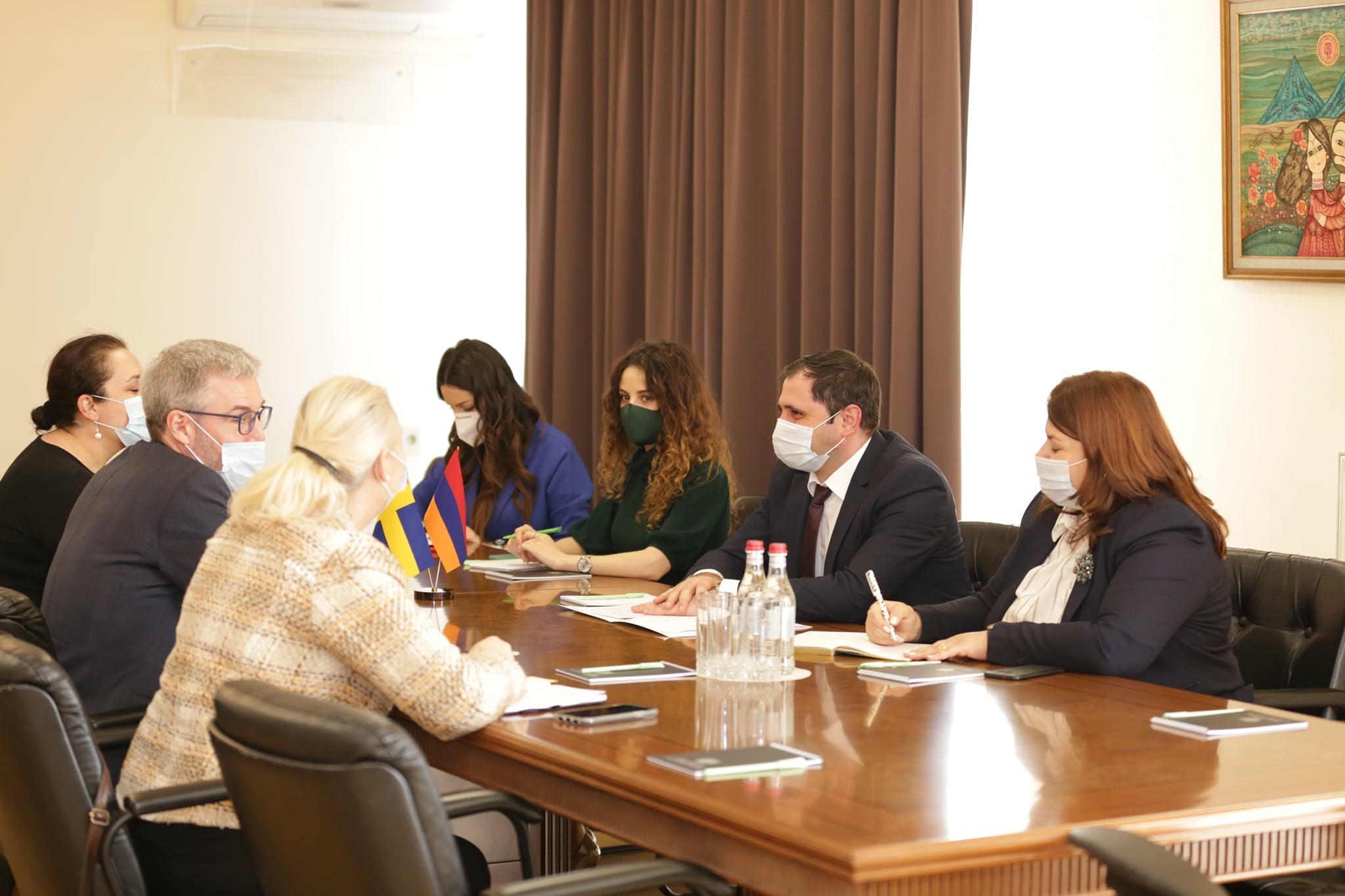 Photo of Սուրեն Պապիկյանն ընդունել է Հայաստանում Շվեդիայի արտակարգ և լիազոր դեսպանին