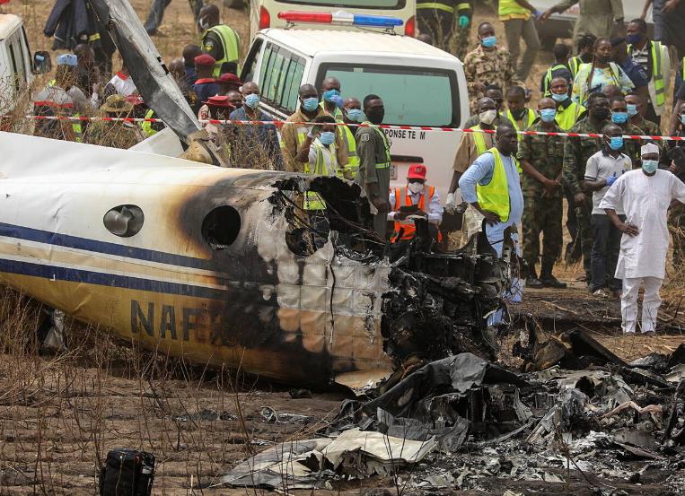 Photo of Հրապարակվել է տեսանյութ Նիգերիայում  ինքնաթիռի կործանման վայրից