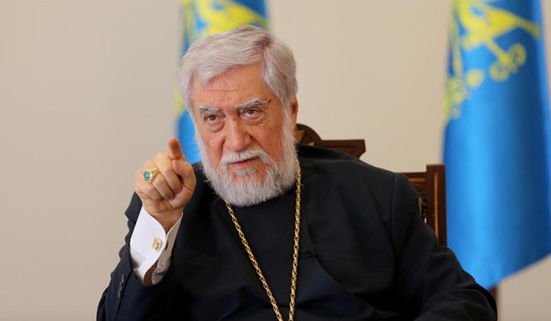 Photo of Арам I: Интересы Армении должны быть превыше всего