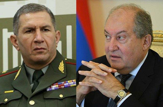 Photo of Президент Армении и начальник Генштаба ВС встретились вновь на этот раз в резиденции президента
