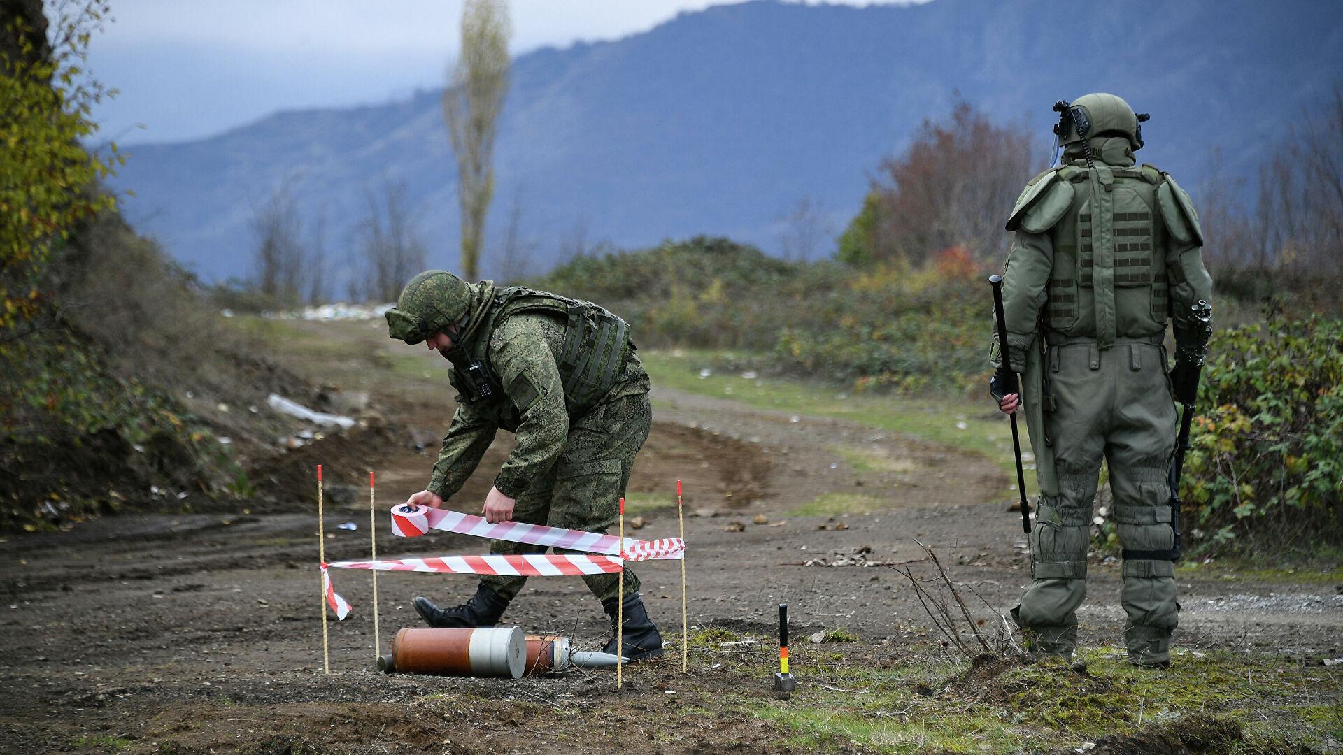 Photo of Արցախում խաղաղապահ է վիրավորվել