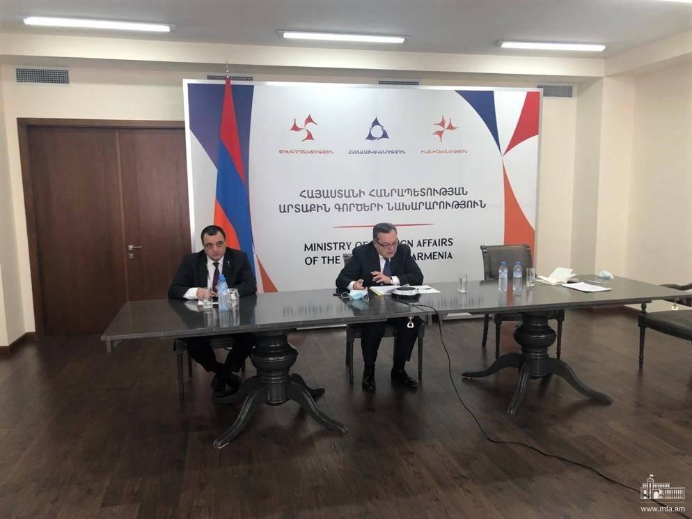 Photo of Քաղաքական խորհրդակցություններ ՀՀ և ԳԴՀ արտաքին գործերի նախարարությունների միջև