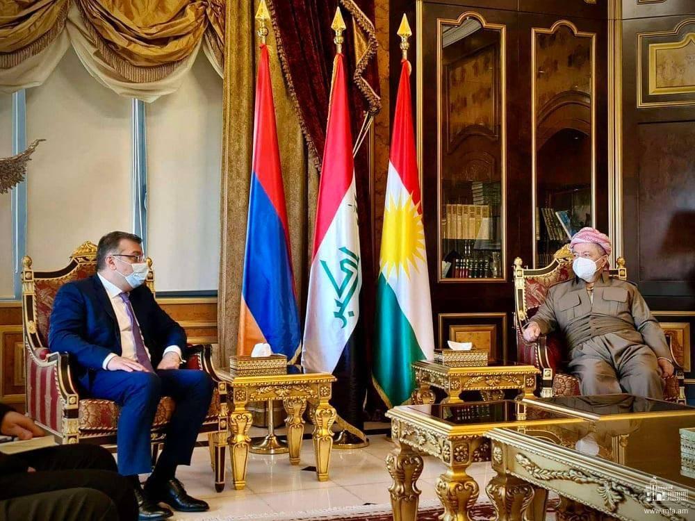 Photo of ՀՀ ԱԳ նախարարի տեղակալ Արտակ Ապիտոնյանի աշխատանքային այցը Իրաքյան Քուրդիստան