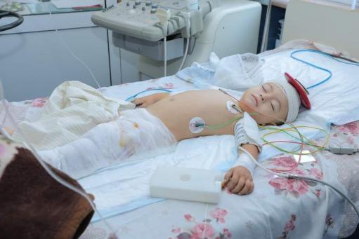 Photo of Բժիշկների շնորհիվ Մարտունիում ծանր վիրավորված փոքրիկը կրկին ժպտում է