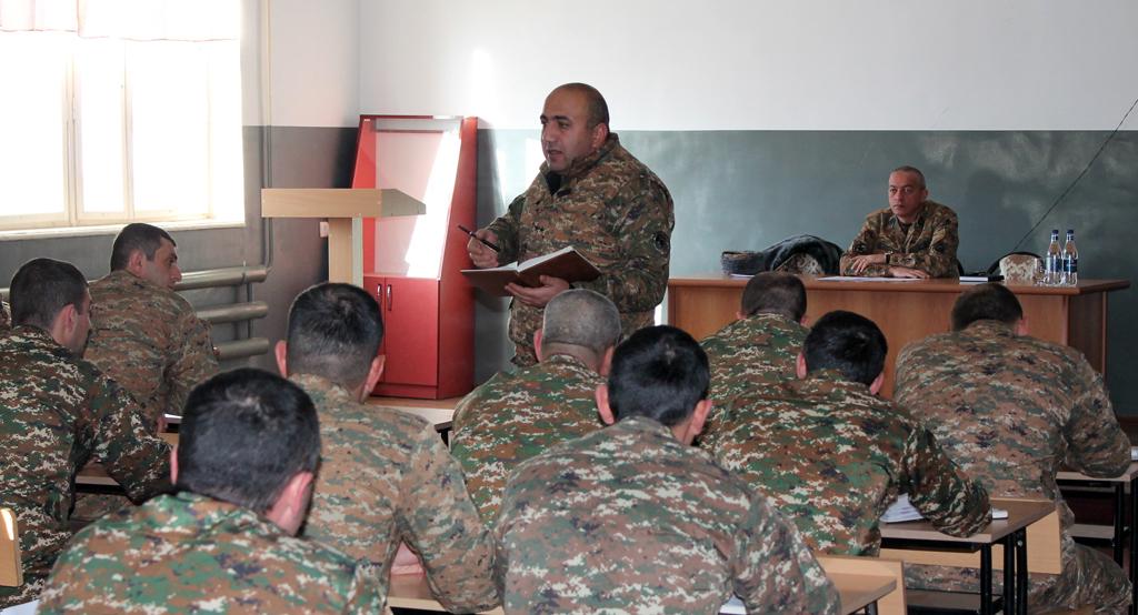 Photo of 4-րդ զորամիավորումում անցկացվել է հավաք-խորհրդակցություն