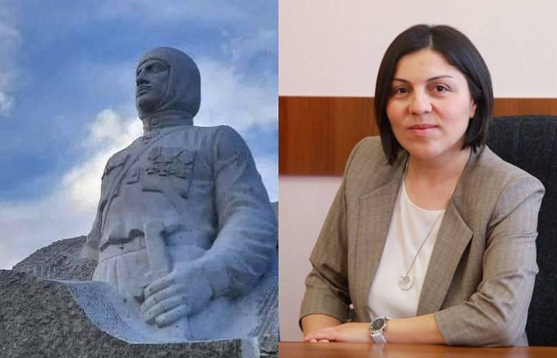 Photo of Արցախի մշակույթի նախարարը մեկնաբանել է Մարտունիում Նժդեհի արձանը ապամոնտաժելու մասին լուրերը