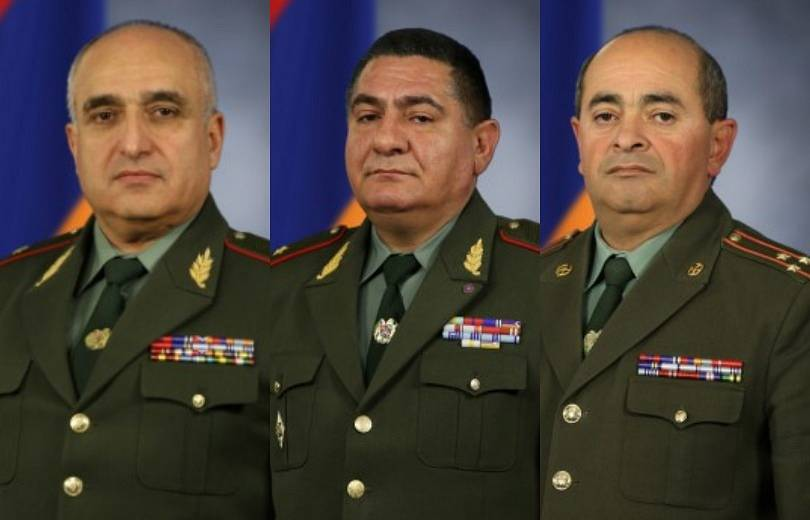 Photo of ՀՀ ԶՈՒ գլխավոր շտաբի 4 բարձրաստիճան պաշտոնյա չի միացել հայտարարությանը. ովքեր են նրանք