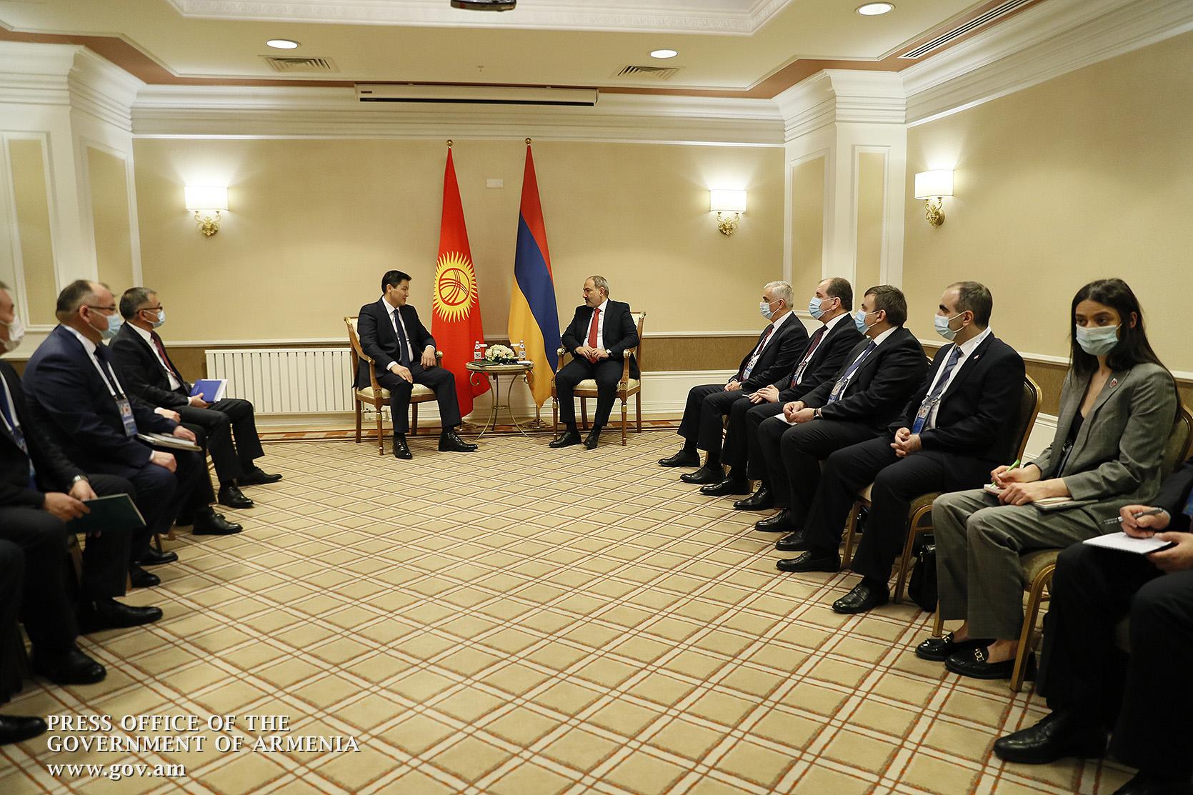 Photo of Հայաստանի և Ղրղզստանի վարչապետներն ընդգծել են քաղաքական երկխոսության բարձր մակարդակը