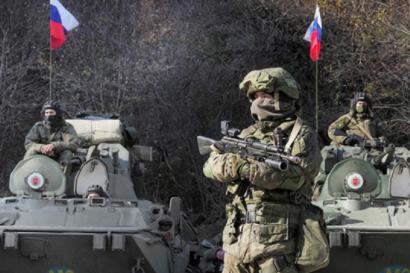 Photo of Ռուս խաղաղապահները Ստեփանակերտից Դադիվանք են ուղեկցել 28 ուխտավորների