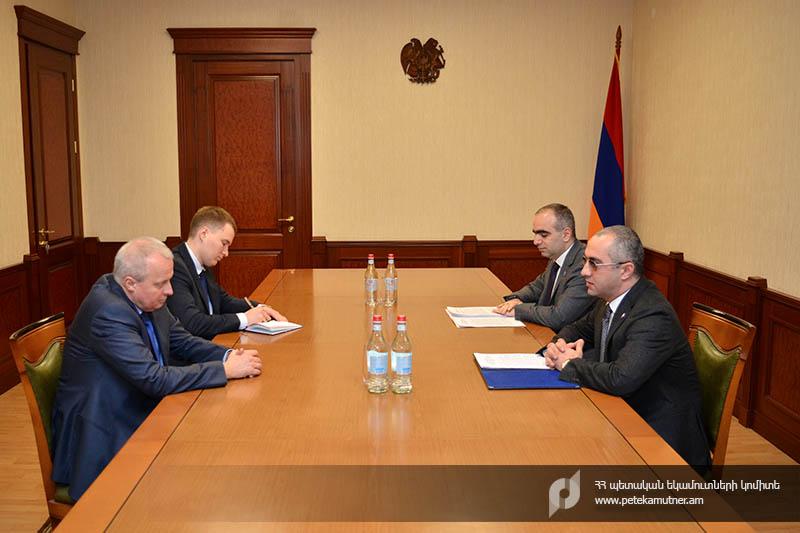Photo of ՊԵԿ նախագահն ընդունել է ՀՀ-ում ՌԴ արտակարգ և լիազոր դեսպանին