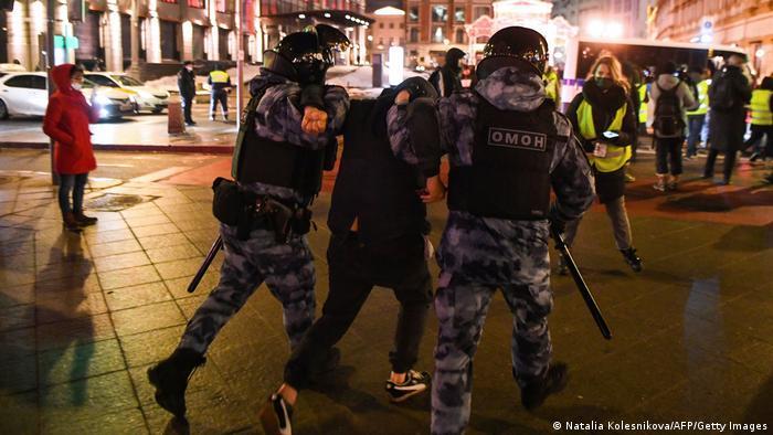 Photo of На акциях в поддержку Навального задержаны более 11 тысяч человек