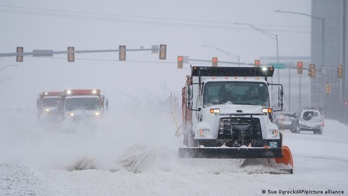 Photo of Экстремальная зима в США привела к человеческим жертвам