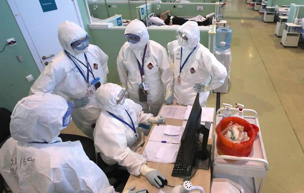 Photo of В России за сутки выявили 12 828 заразившихся коронавирусом. Это минимум с 9 октября