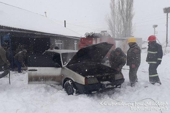 Photo of Հրդեհ ավտոմեքենայում. տուժածներ չկան