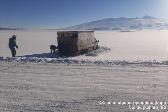 Photo of Փրկարարներն արգելափակումից դուրս են բերել ավտոմեքենաները