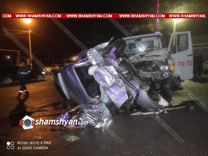 Photo of Ողբերգական ավտովթար Երևանում. բախվել են Mercedes քարշակն ու Toyota Passo-ն. վերջինս կողաշրջվել է. կա 1 զոհ, 2 վիրավոր
