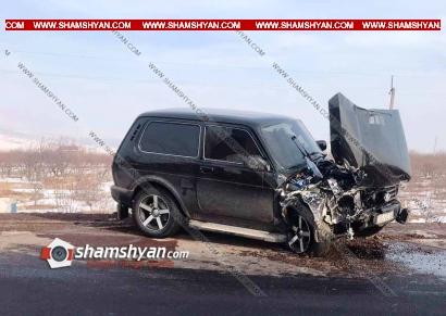 Photo of Ավտովթար Արագածոտնի մարզում․ Ուշիի ոլորանների սկզբնամասում բախվել են Niva-ն ու Volkswagen-ը, կան վիրավորներ